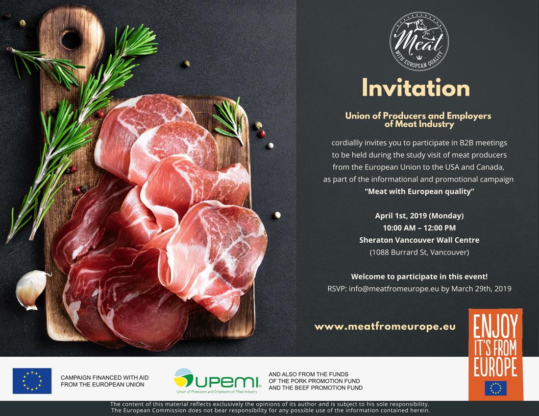 UPEMI_Invitation B2B Vancouver