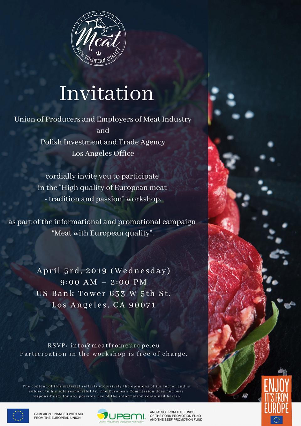 UPEMI Invitation workshop LA