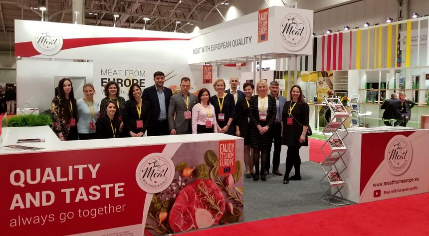 """""""Meat with European quality"""" at the SIAL Canada fair"""