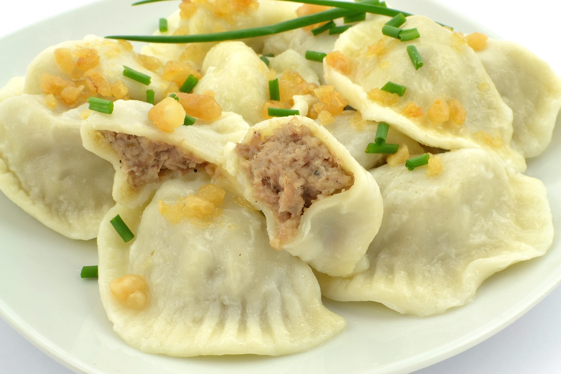 Minced meat dumplings
