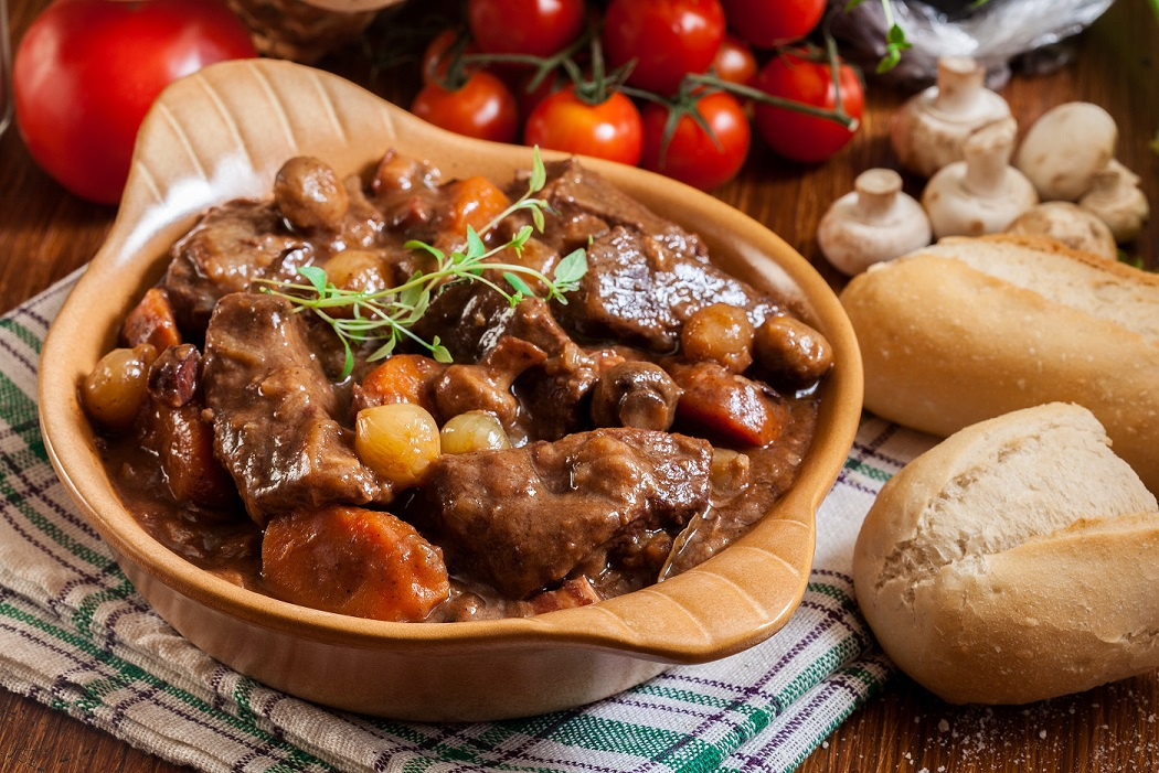 Burgundy-style beef