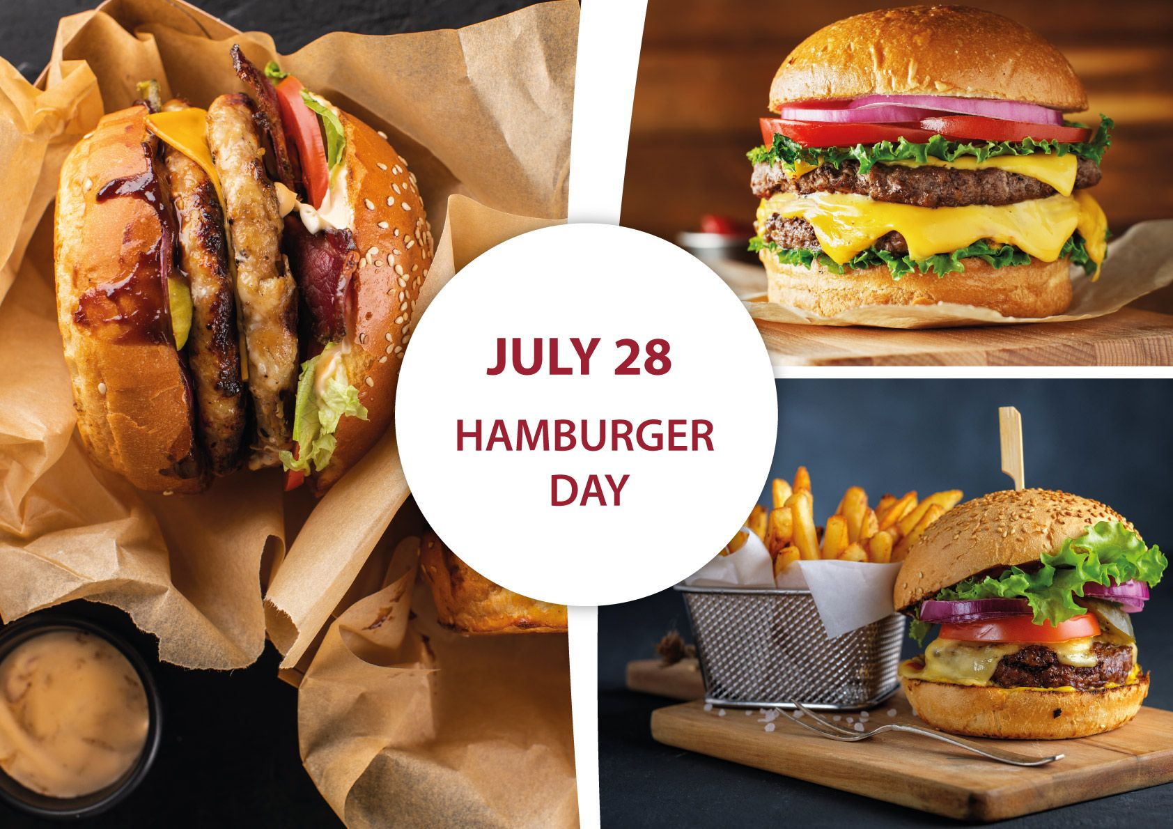 28 July – Hamburger Day. How did the US icon get from Europe to America?